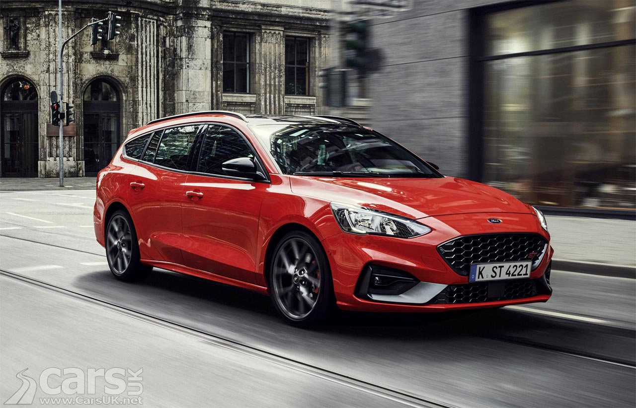 This is the new Ford Focus ST Estate