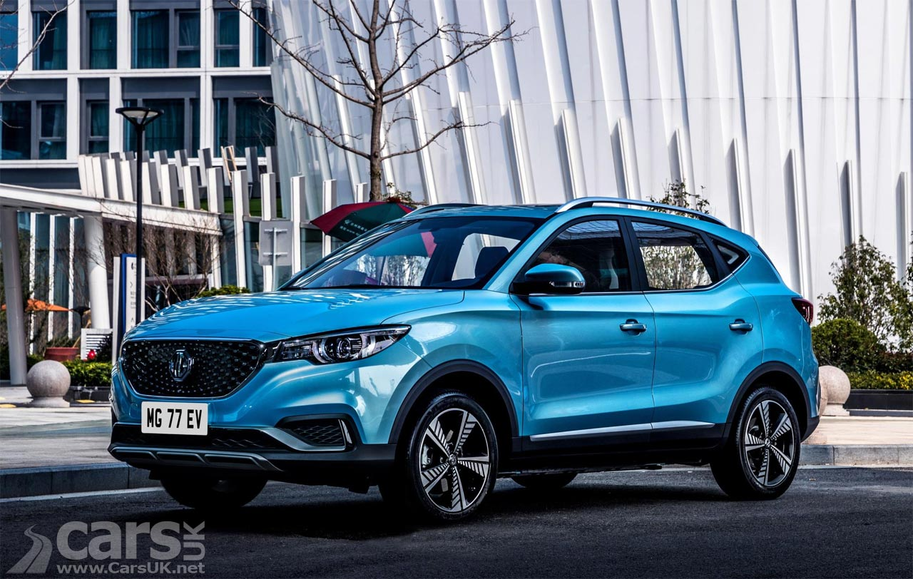 Electric MG ZS EV confirmed with 44.5kWh battery