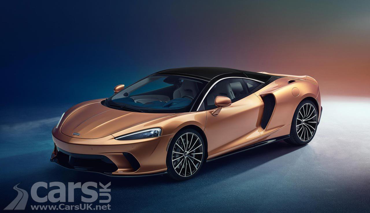 New McLaren GT 'Superlight Grand Tourer'