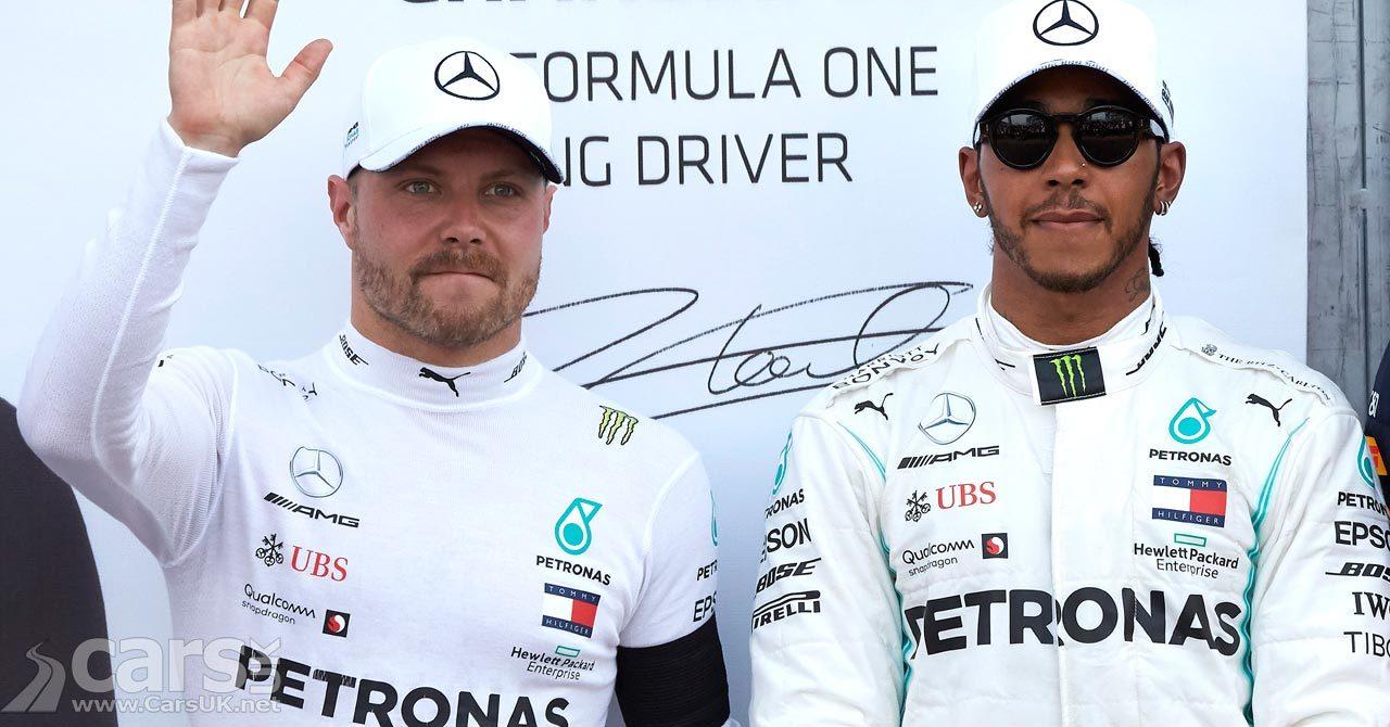 Bottas and Hamilton at the 2019 Monaco Grand Prix