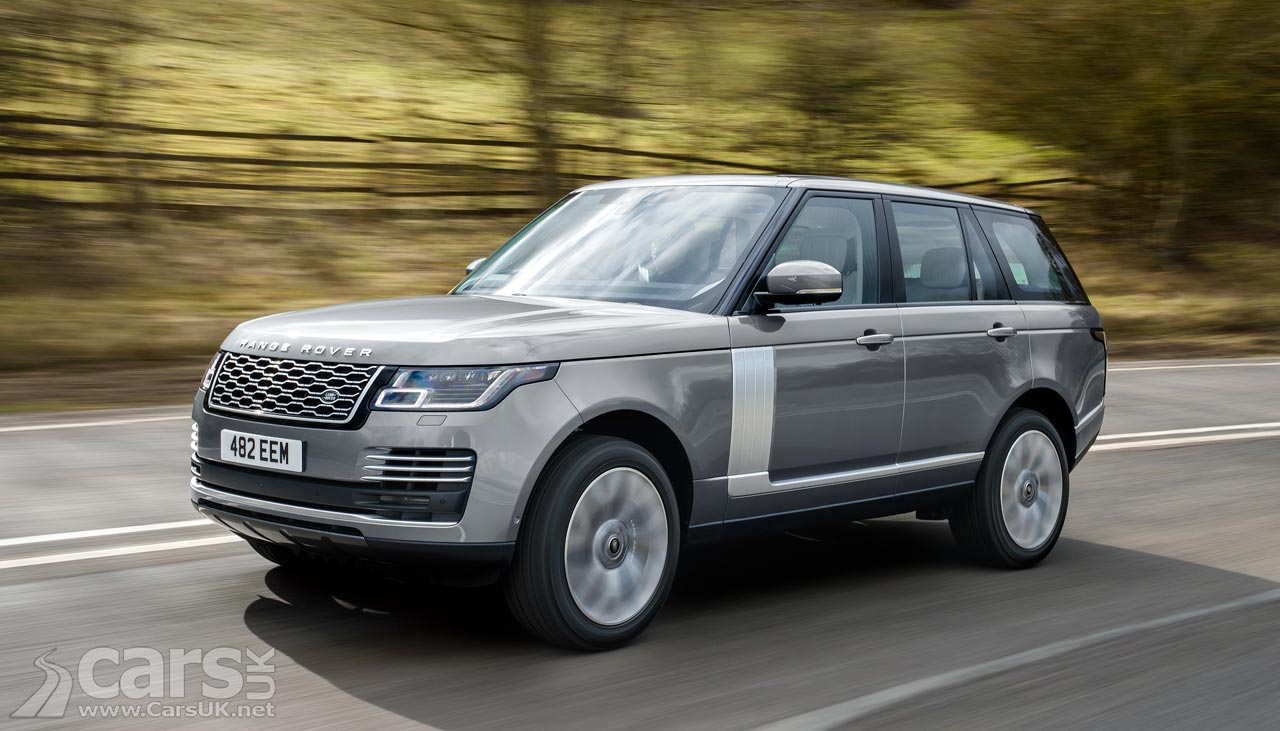 The Range Rover now comes with JLR's new straight-six petrol