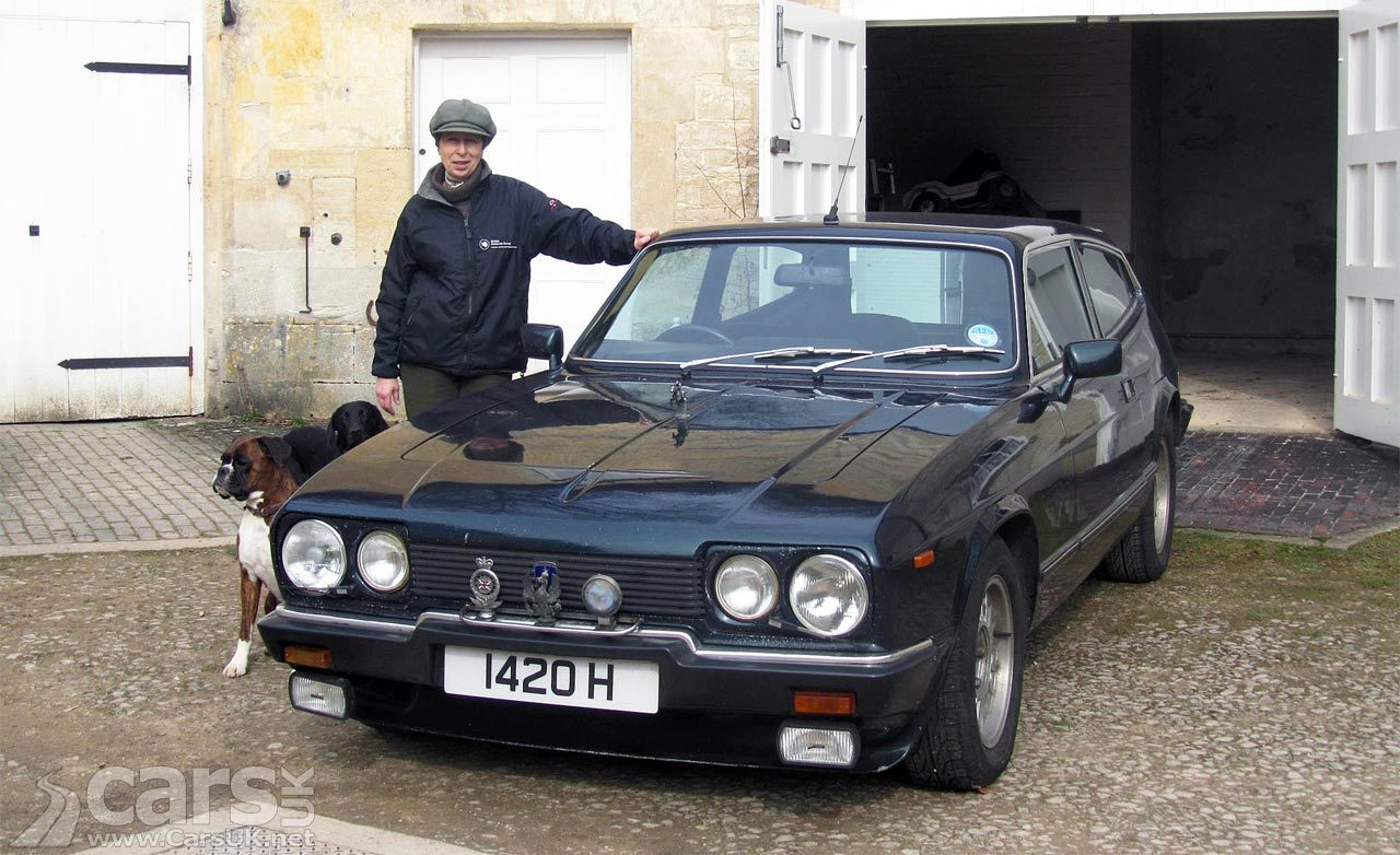 The Reliant Scimitar GTE. Princess Anne has one, you know.