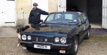 The Reliant Scimitar GTE. Princess Anne has one, you know.