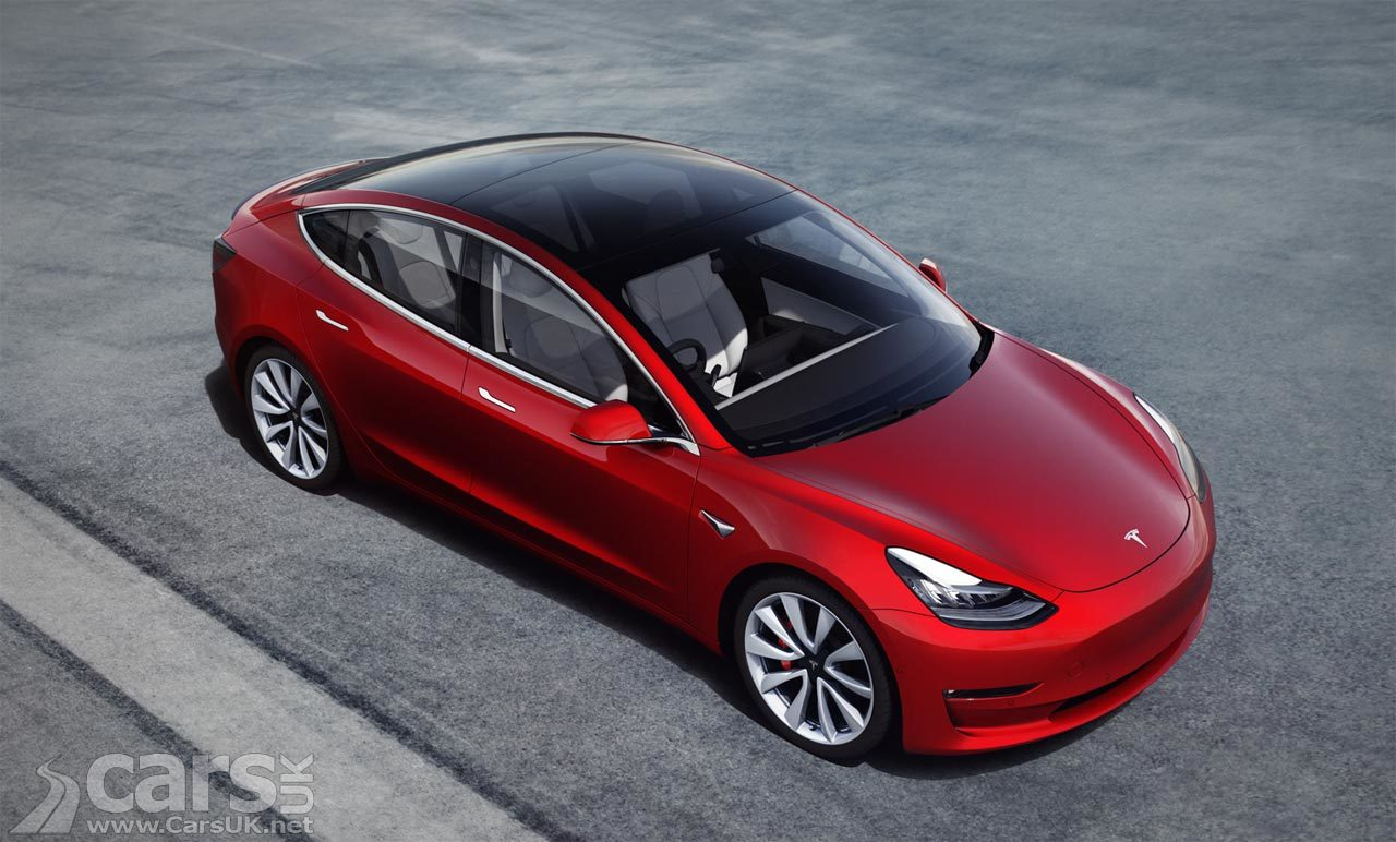Tesla Model 3 now on sale in the UK (May 2019)