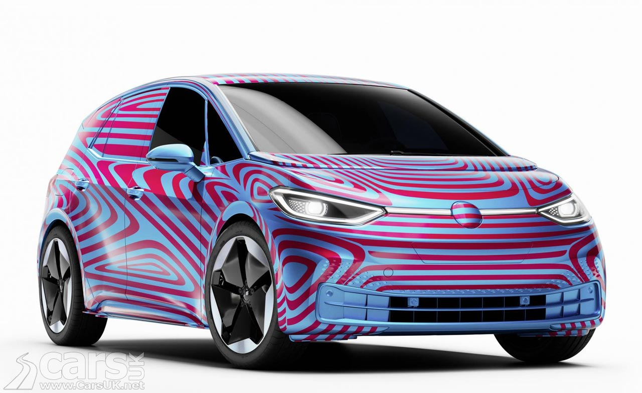Volkswagen's New Electric Car Will Be The VW ID.3
