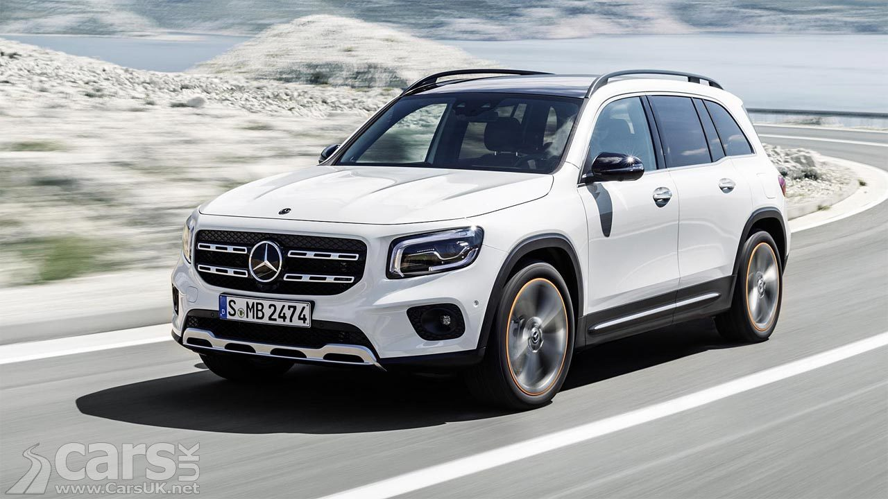 This is the new Mercedes GLB SUV