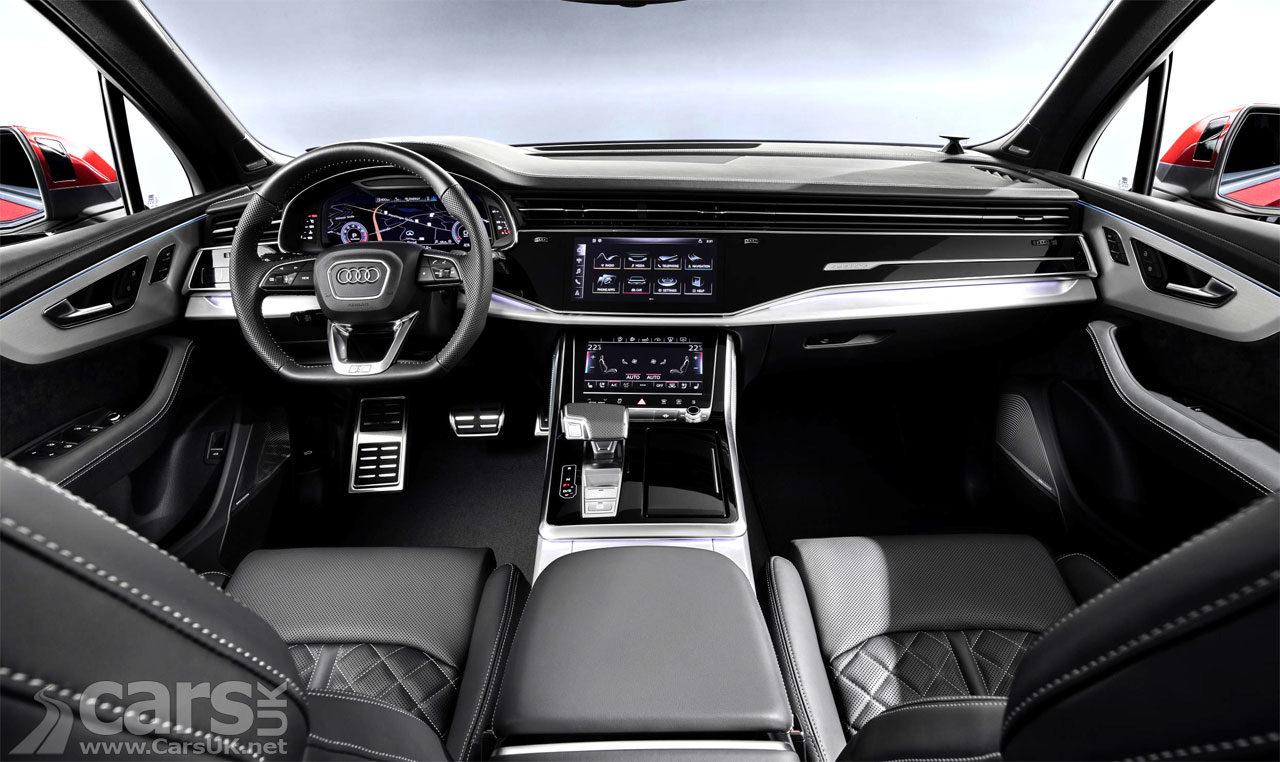 Audi Q7 Facelift Interior