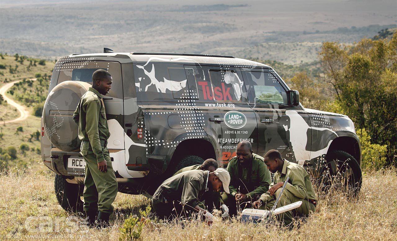 New Land Rover Defender in Kenya
