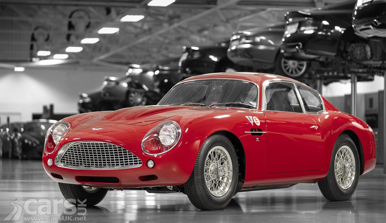 First Aston Martin DB4 GT Zagato Continuation build breaks cover