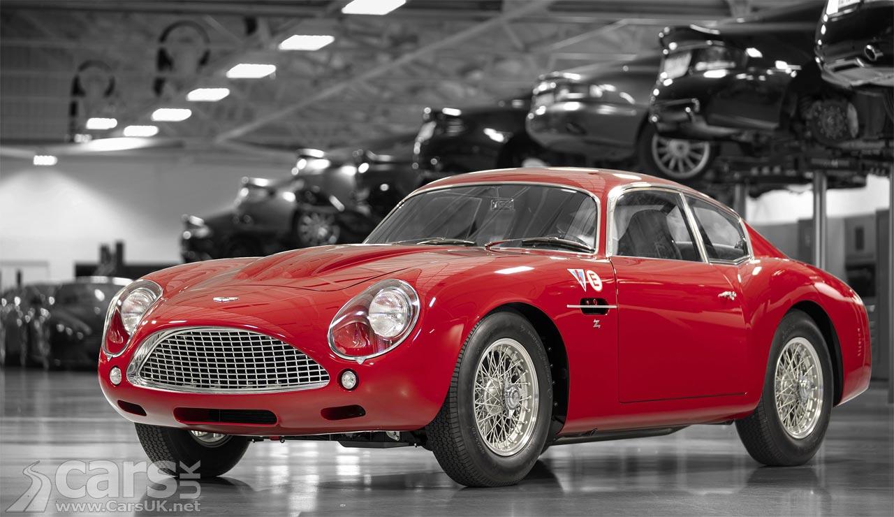First Aston Martin DB4 GT Zagato Continuation build breaks cover