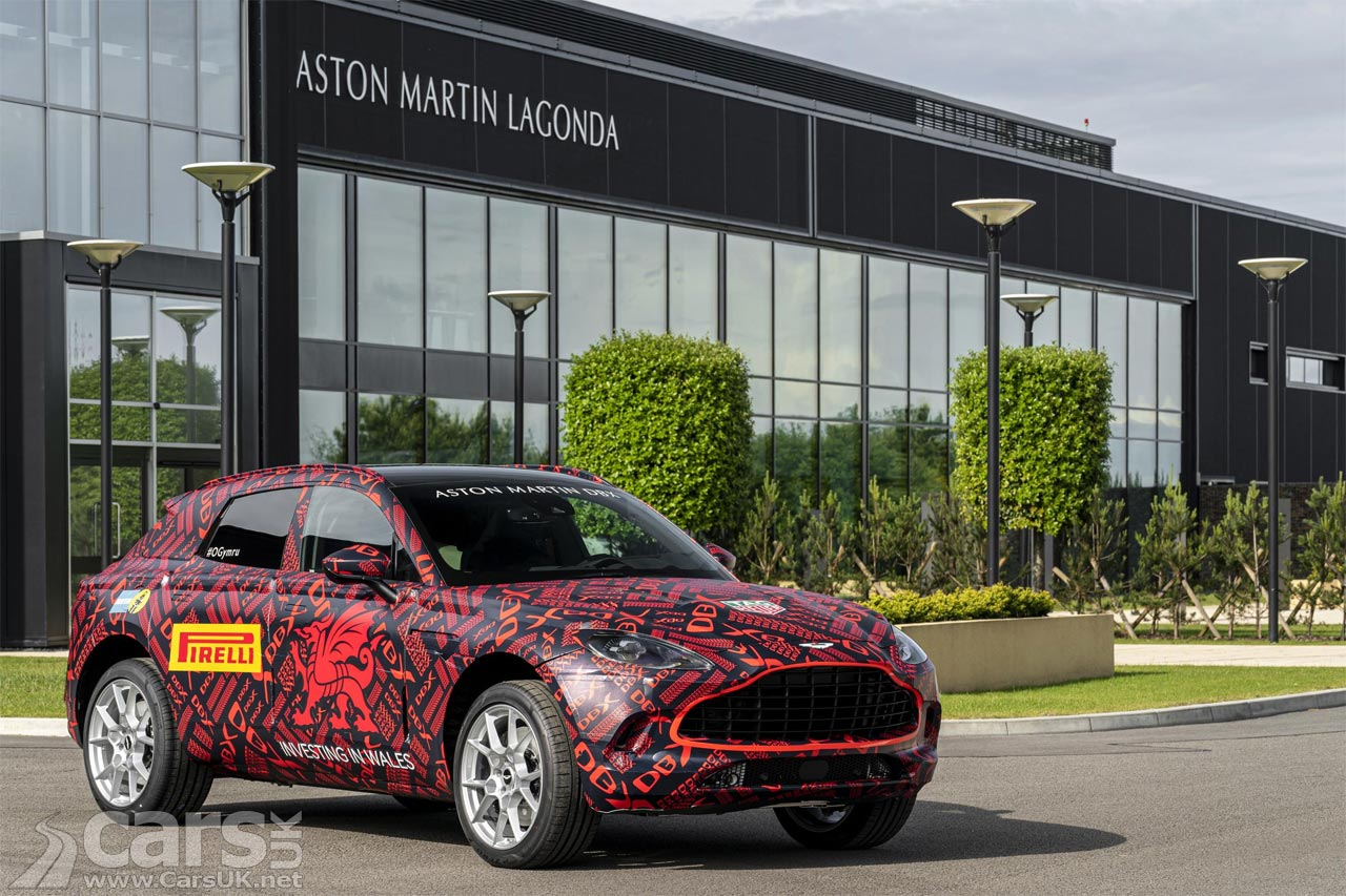 First Aston Martin DBX SUV built at St Athan