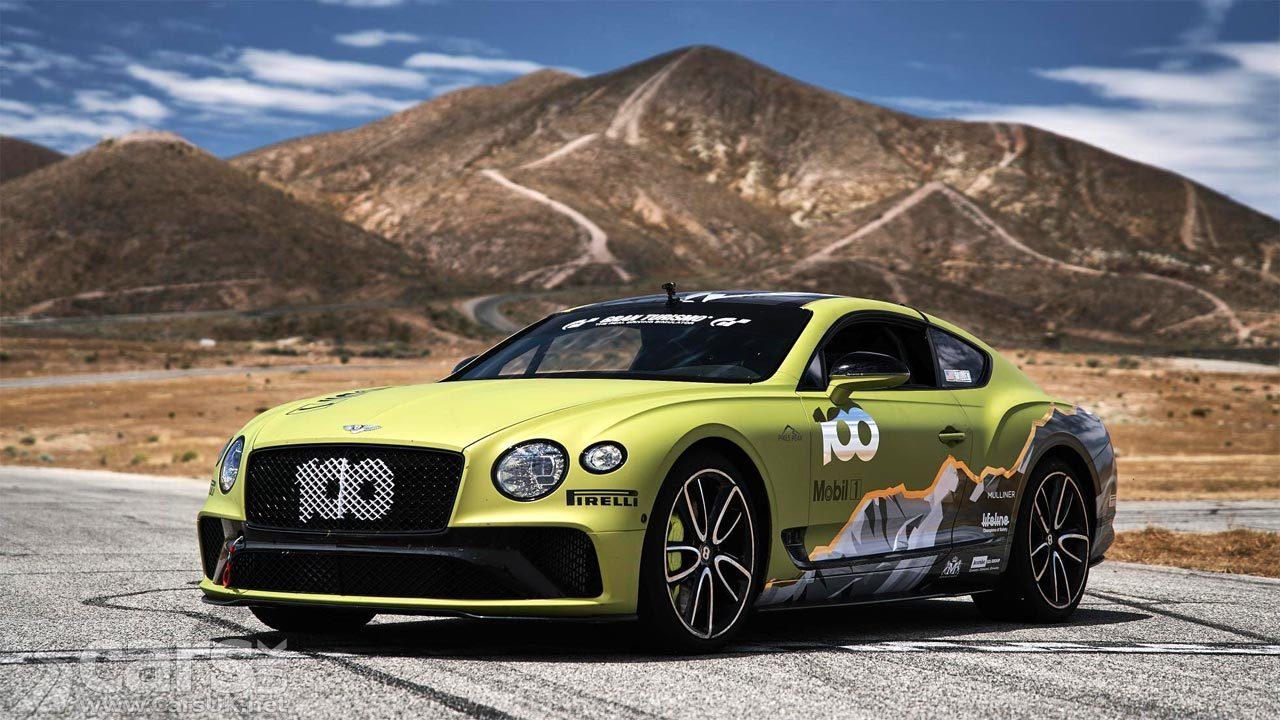 Bentley Continental GT Pikes Peak car