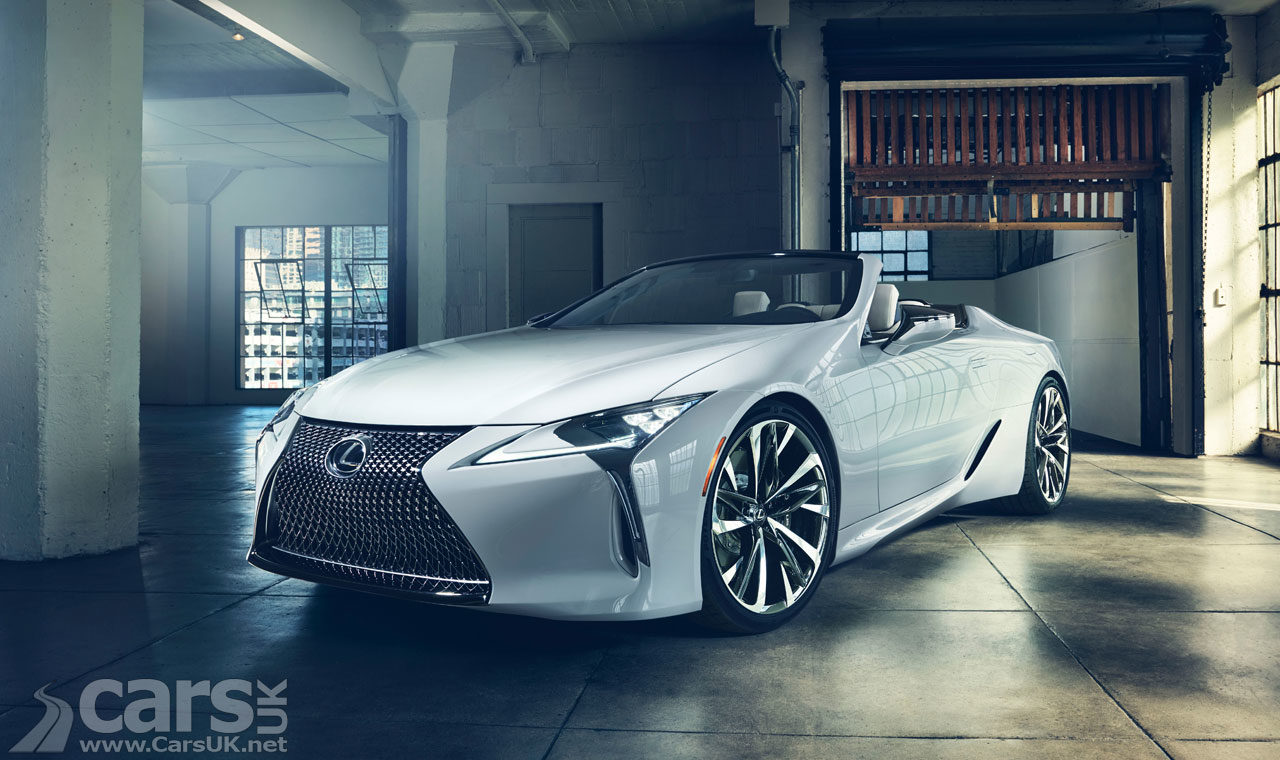 Lexus LC Convertible debuting at Goodwood Festival of Speed