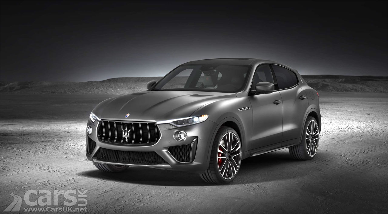 Maserati Levante Trofeo and GTS SUVs go on sale in the UK