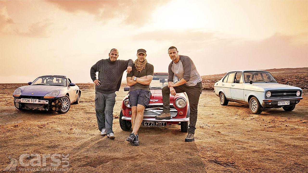 Top Gear is BACK tonight