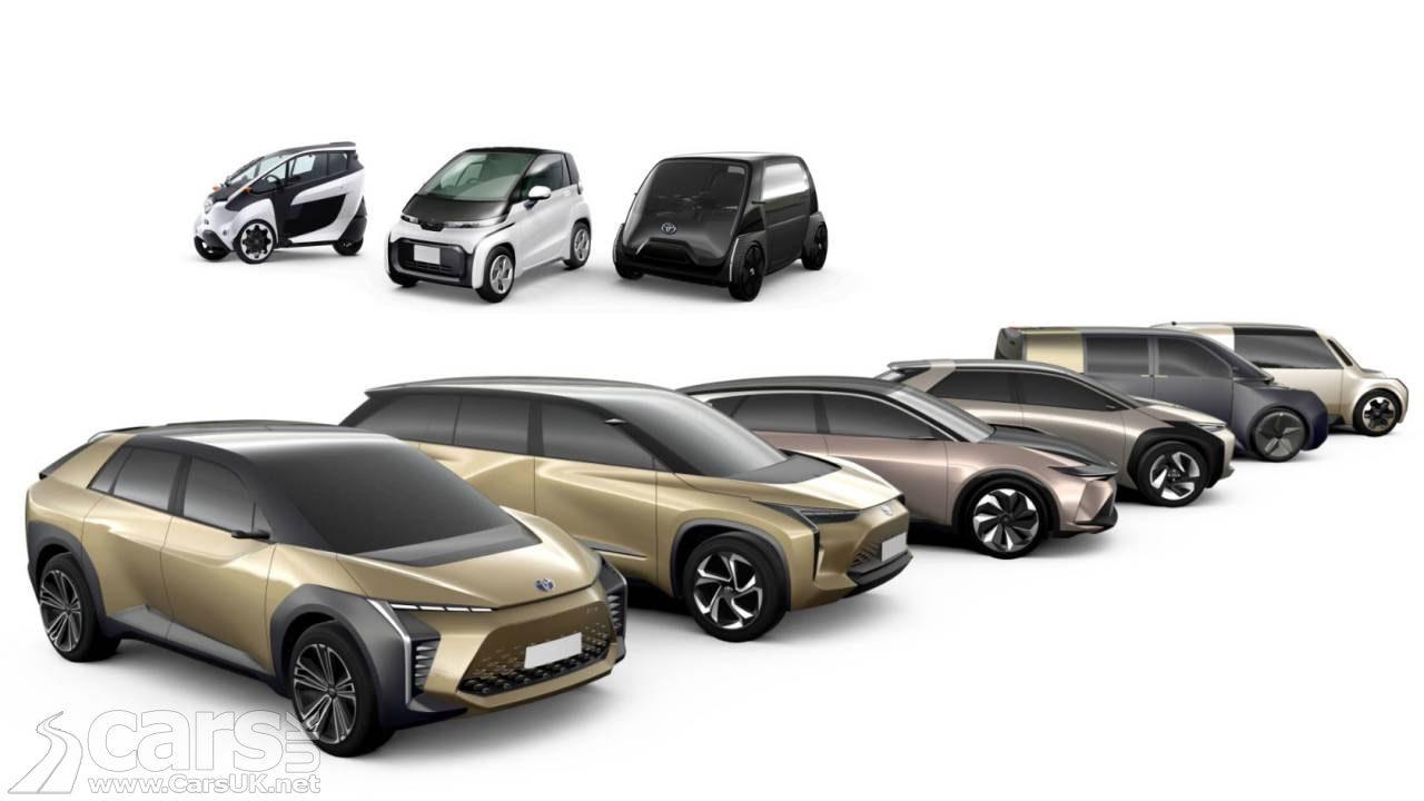 Toyota Future EV Range