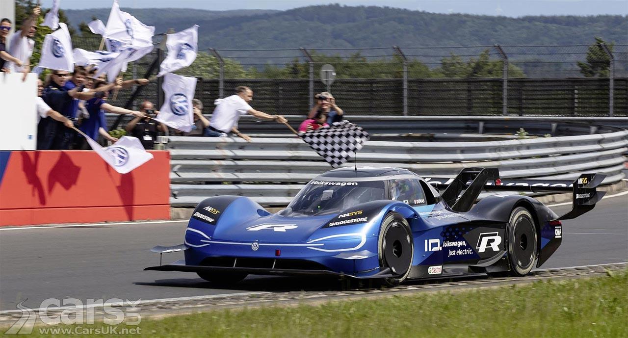 Volkswagen ID R Electric 'Racer' takes Nurburgring EV record