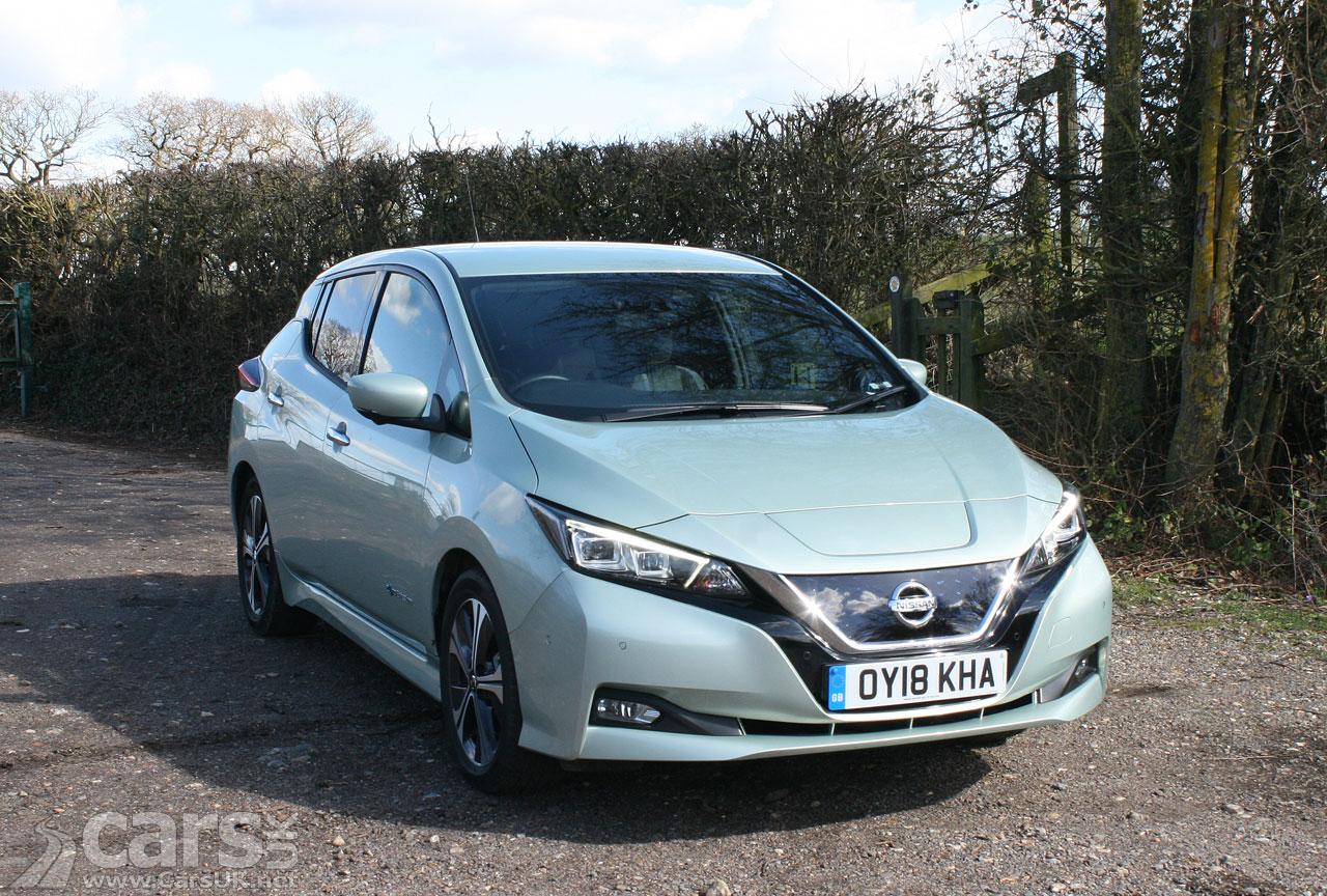 Electric Nissan LEAF