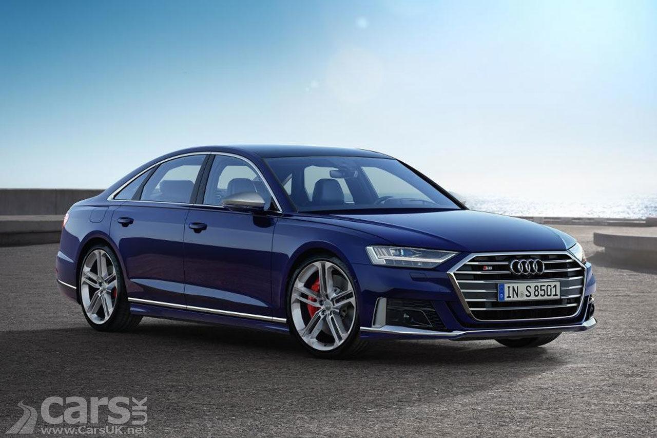 New Audi S8 arrives