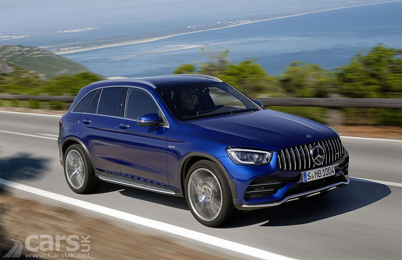 New Mercedes-AMG GLC43 SUV