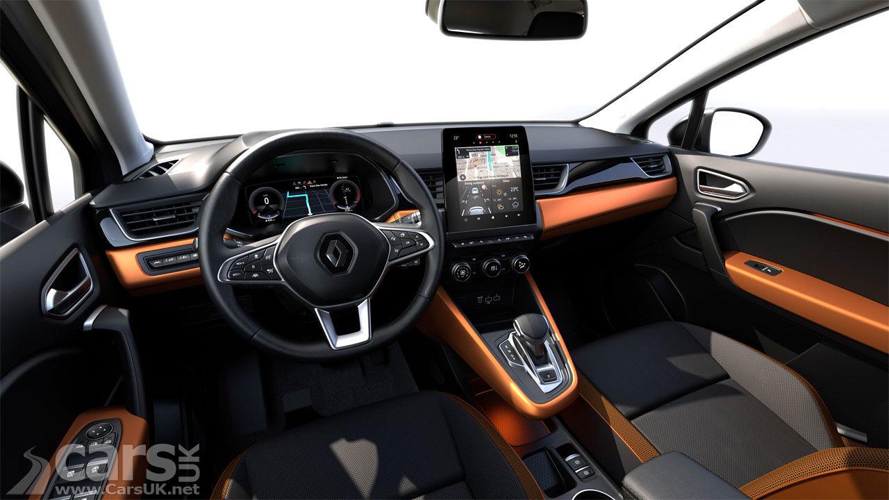 New Renault Captur Interior