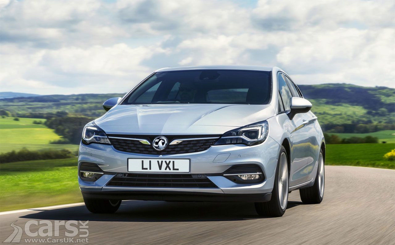 Vauxhall Astra gets a bit of a facelift