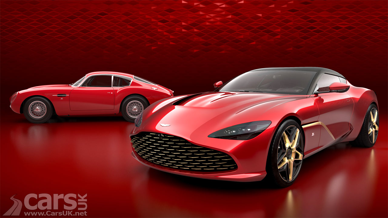 The Aston Martin DBS GT Zagato has a LIVING Grille