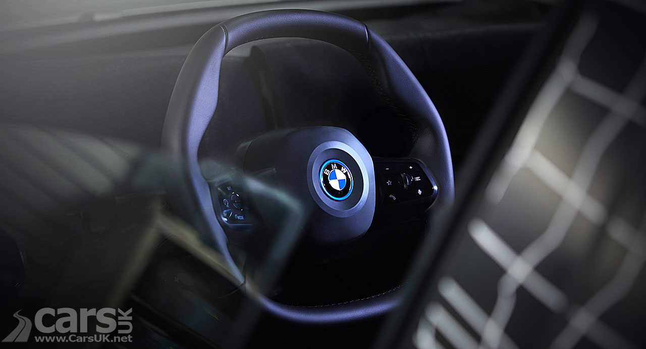 BMW iNEXT Polygon Steering Wheel