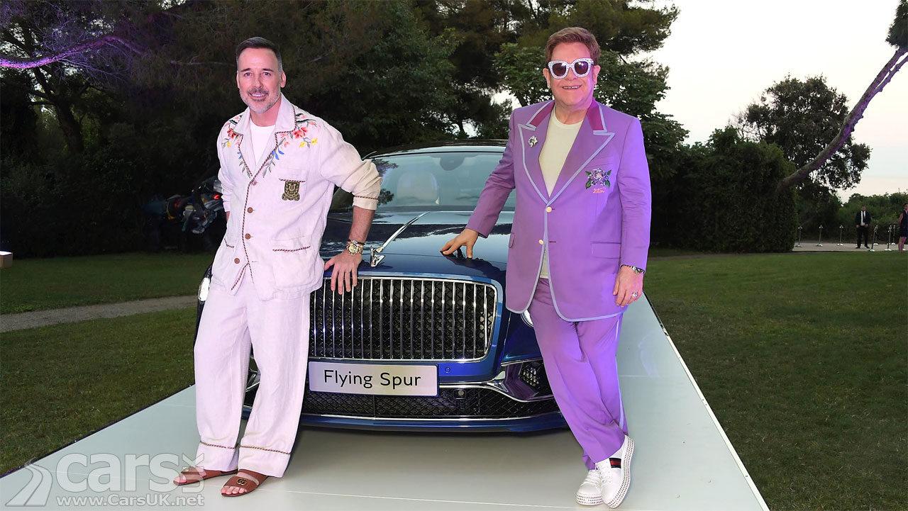 Bentley Flying Spur First Edition, David Furnish and Elton John
