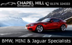 Chapel Hill Auto Services | BMW, MINI and Jaguar Specialist Essex