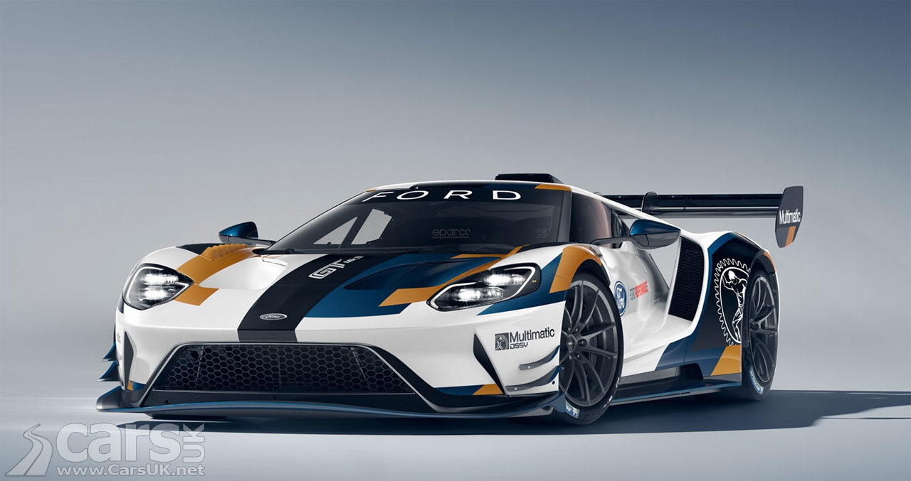 Ford GT supercar track version gets 700bhp