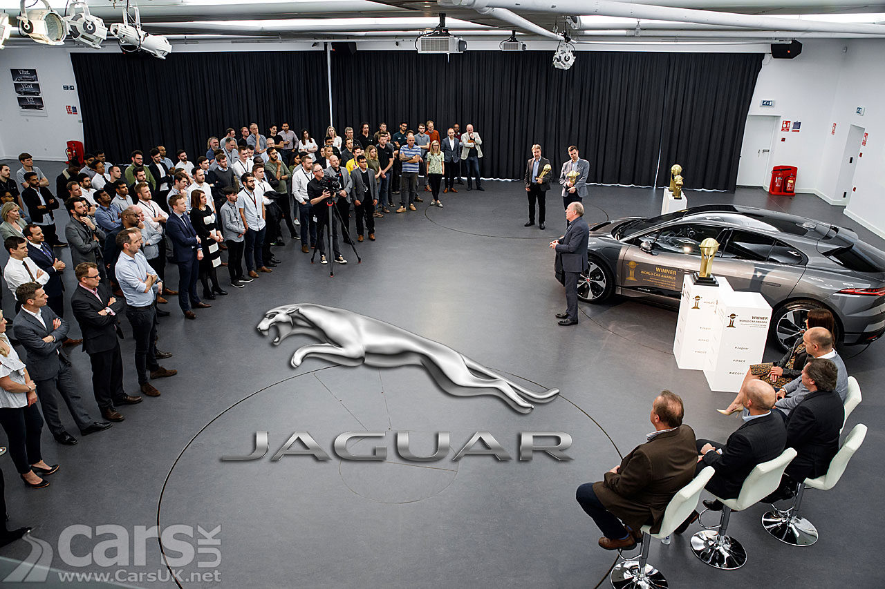 Jaguar J-Pace SUV and Electric XJ REVEALED