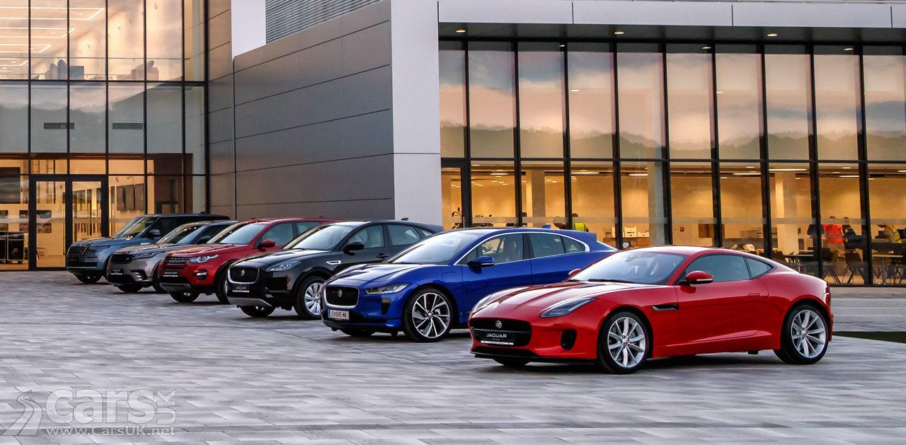 Jaguar Land Rover Range