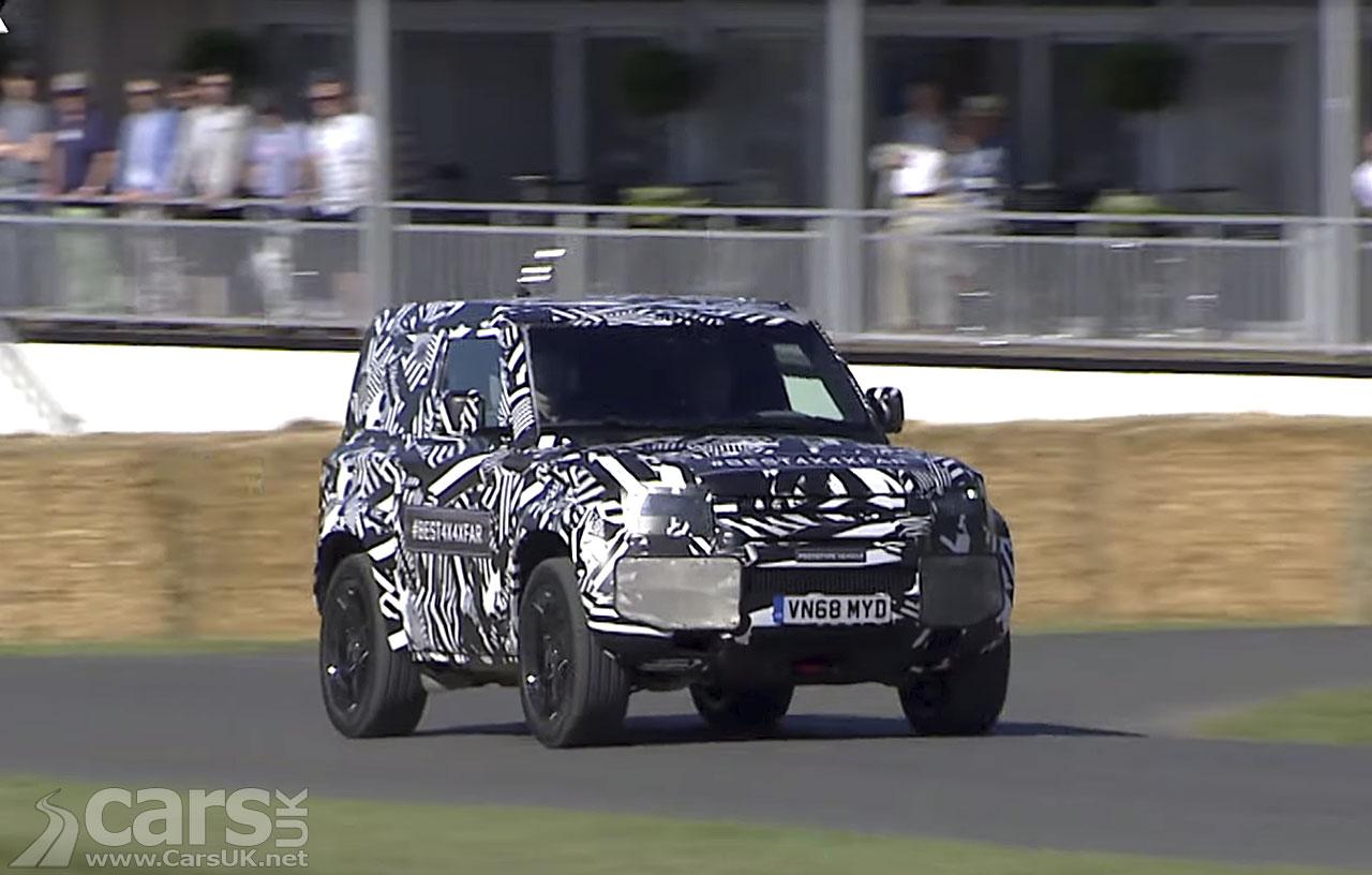 New Land Rover Defender Goodwood