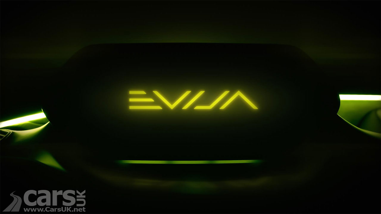 Lotus Evija Name