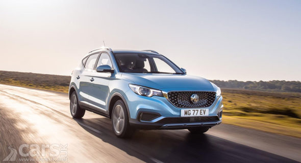 Electric MG ZS EV goes on sale in the UK
