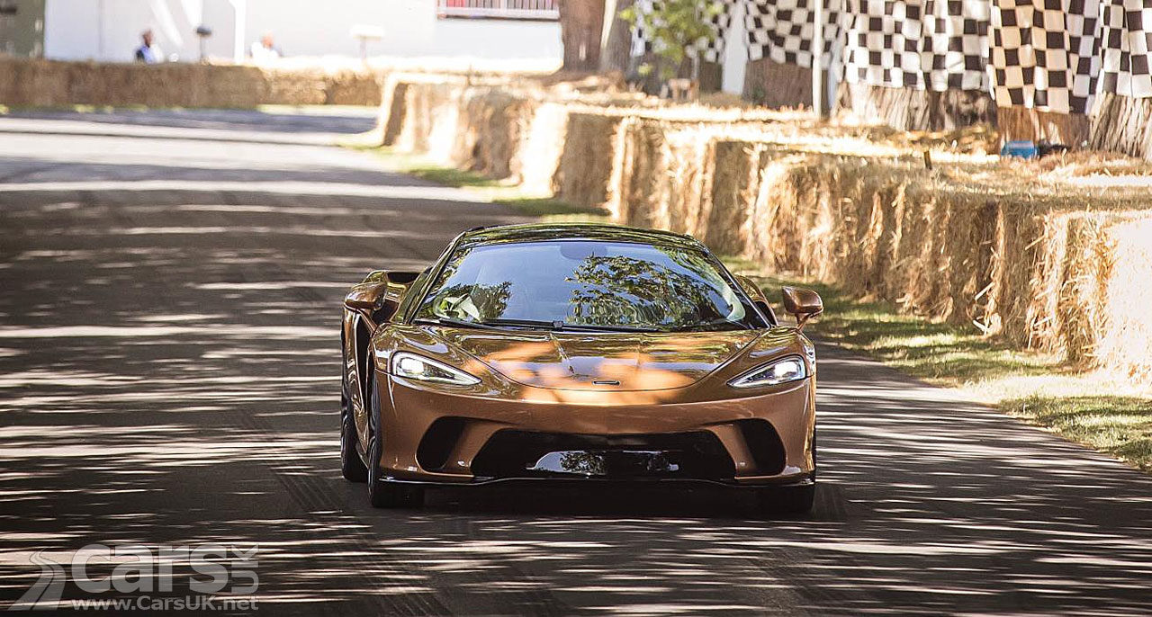 New McLaren GT makes its global dynamic debut at Goodwood