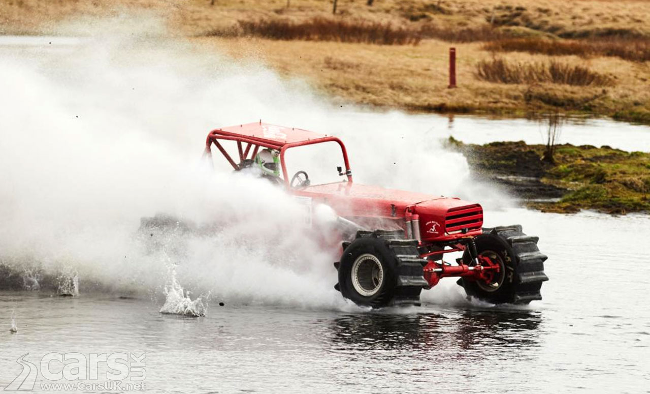 Top Gear Iceland Off-Road