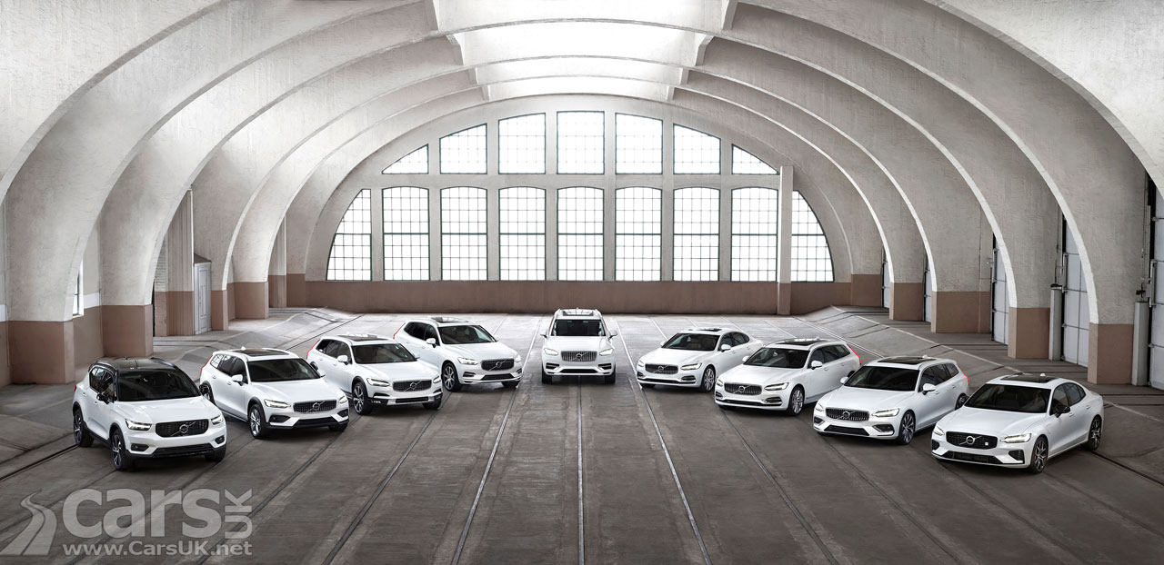 volvo recall 507 000 cars - from v40 to xc90