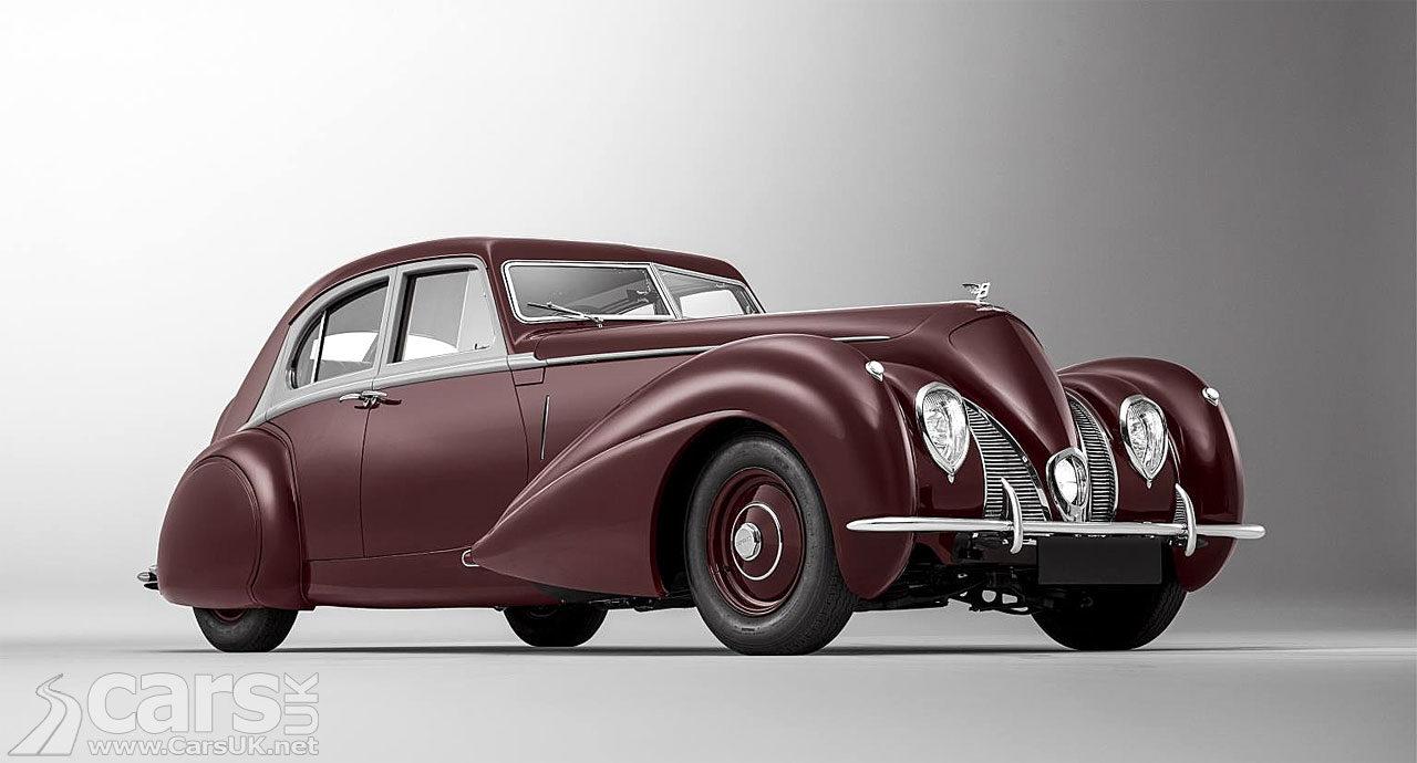 Photo of re-built 1939 Bentley Corniche