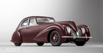 Photo of re-built 1939 Bentley Corniche