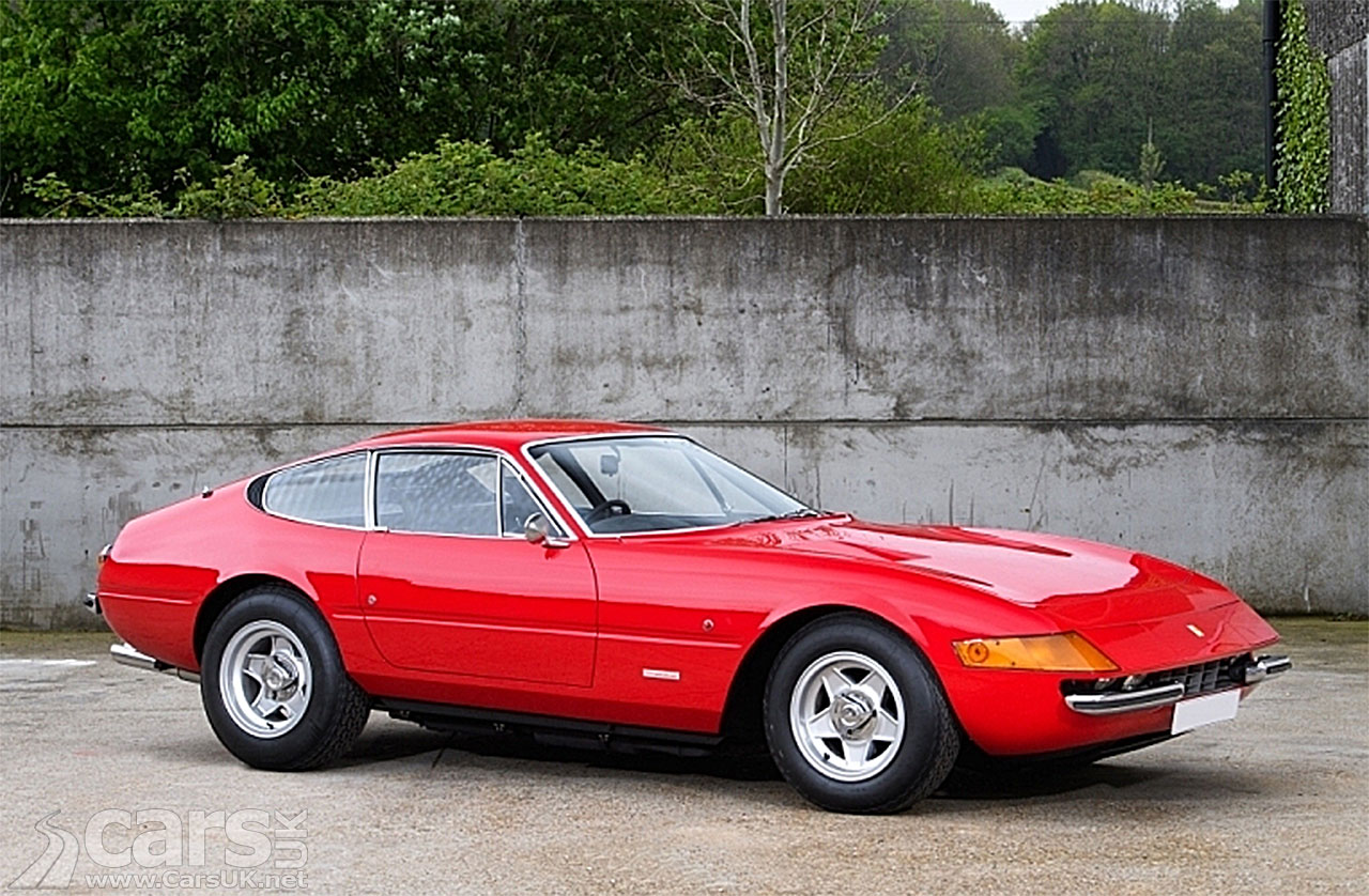Photo of Elton John's 1972 Ferrari 365 GTB/4 Daytona
