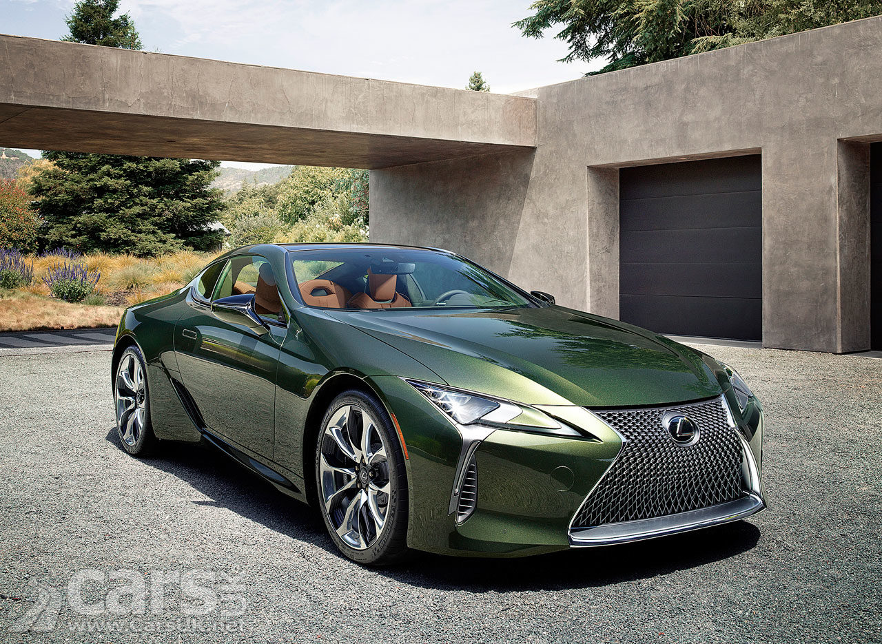 Photo of new Lexus LC Limited Edition