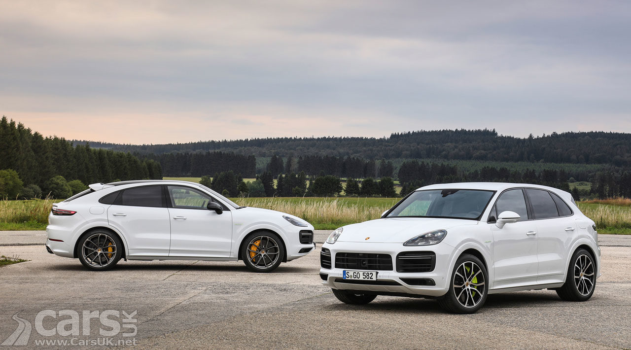 New Porsche Cayenne Turbo S E-Hybrid and Coupe