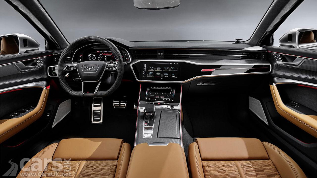 Photo 2020 Audi RS6 Avant Interior