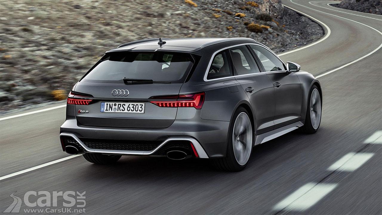 Photo 2020 Audi RS6 Avant rear