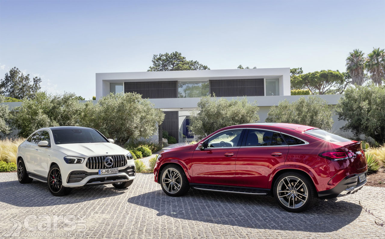 Photo New Mercedes GLE Coupe