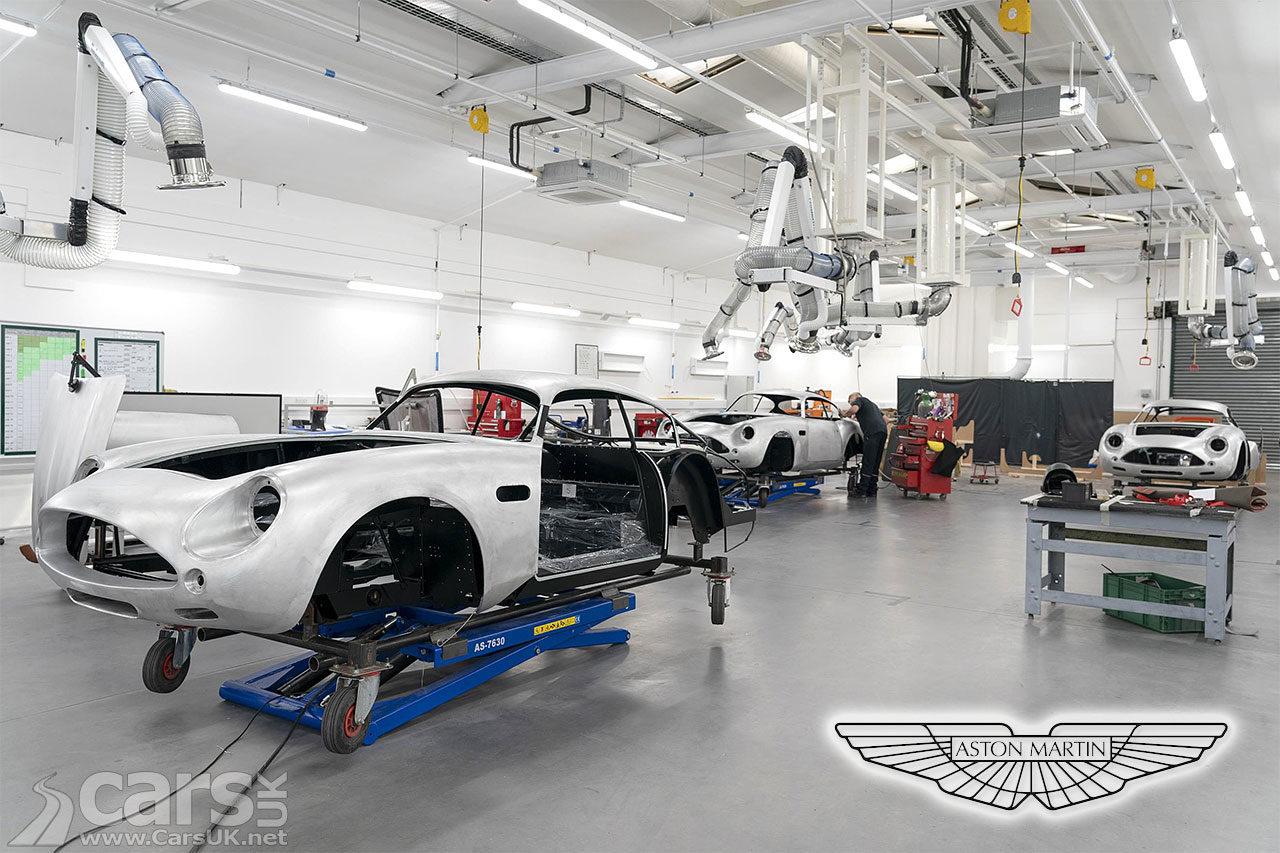 Aston Martin DB4 GT Zagato Continuation - over HALF now in build