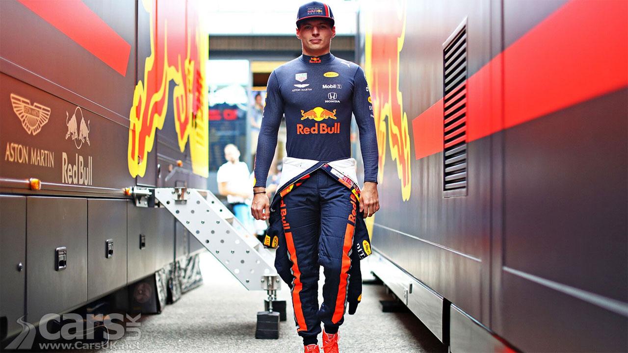 Verstappen on POLE for Red Bull