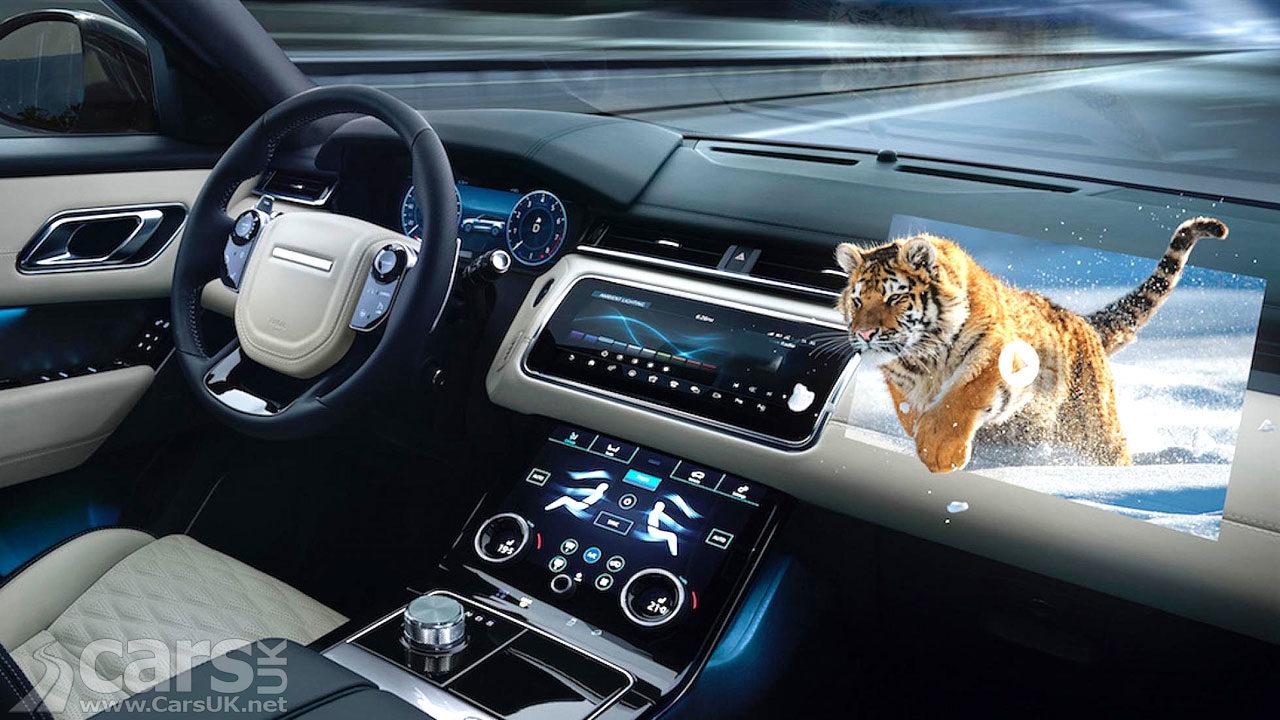 Photo of Jaguar Land Rover 3D augmented entertainment